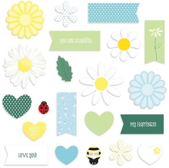 scrapbook page embellishments